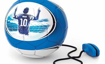Save on Messi MET24200 2 in 1 Soft Touch Training Ball, Refresh Blue and more