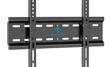 TV Wall Bracket for 26-47 inch Flat&Curved TV or Monitor up to 50KG, Max VESA 400X400mm