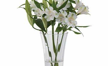 "Save on Dartington Crystal ""Florabundance"" Bouquet Array Vase, Transparent and more"