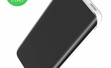 Power Bank【Newest Version】25000mAh Portable Charger High Capacity External Battery Pack with Dual USB Port 4 LED Lights Flashlight Power Back for iPhone iPad Samsung Huawei Android Tablet PSP Camera
