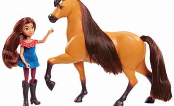 Save on Spirit Small Doll & Classic Horse- Lucky and Spirit and more