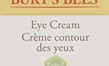 Burt's Bees 98.9% Natural Hydrating Daily Eye Cream Tube, Sensitive Formula, 14.1 g