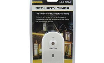 Uni-Com 63346 Security Timer, White