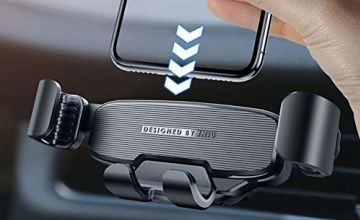 INIU Car Phone Holder, Air Vent Mobile Phone Holders for Cars, Universal Car Phone Mount GPS, Compatible with iPhone 11 Pro Samsung Galaxy S11 Note 10 Huawei P30 Blackberry HTC Motorola Oneplus etc
