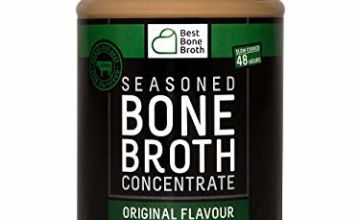 Premium Beef Bone Broth Concentrate - 100% Sourced from AU Grass-Fed, Pasture-Raised Cattle - Healthier Skin & Nails, Healthy Digestion - Bone Broth Collagen - 375g