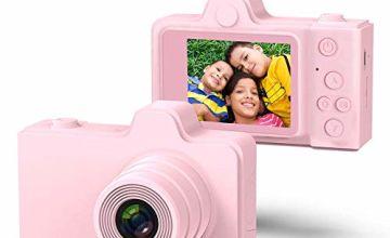 TRD Kids Digital Camera 2.0 inch IPS Screen 8MP Video Digita