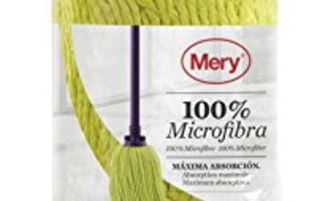 Mery Mop Compatible with All Handles, Microfibre, Purple, 36 x 9 x 9 cm