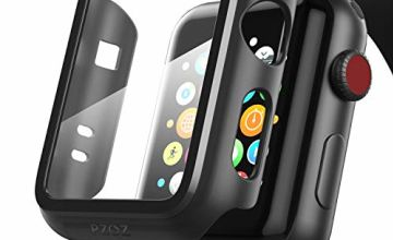 PZOZ apple watch series 2/3 case with screen protector