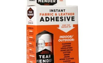 Tear Mender 2 oz Instand Fabric and Leather Adhesive