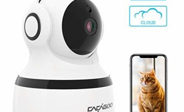 CACAGOO Security Camera, Baby Monitor WIFI IP Camera 1080P FHD Indoor Wireless Pet Camera
