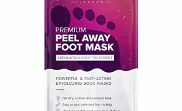 Foot Peel, Korean Foot Peeling Mask for Soft Baby Feet - Hard Skin Remover Foot Mask, Removes Calluses and Hard Skin in 3-7 Days; Foot Care For Men and Women