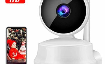 QZT IP Camera, Wireless Home Security 720P HD Wifi Camera With Pan/Tilt, Two-Way Audio, Night Vision, Motion Detection, Email Alarm, Micro SD Recording for IOS, Android and Windows Device Remote View