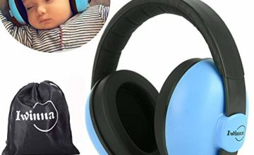 Baby Ear Defenders Hearing Protection Earmuffs Safety Ear Muffs for Newborn Infant Autism Kids Noise Cancelling Headphones for Sleeping Studying Airplane Concerts Movie Theater Fireworks