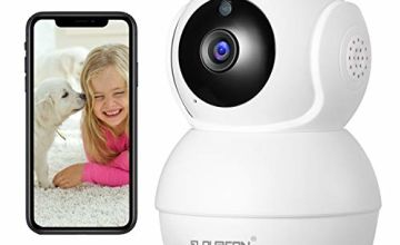 FLOUREON WiFi 1080P HD Security IP Inexpensive Camera