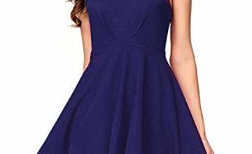 SUNNYME Womens Party Cocktail Dress A Line Wedding Guest Dre