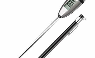 ThermoPro TP02S Digital Meat Thermometer Instant Read Cooking Food Thermometer for Kitchen Smoker Grill BBQ Water Milk Jam Hot Beverage Thermometer Probe