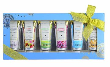 Spa Luxetique Hand Cream, 6pc Hand Cream Gift Set Shea Butter.