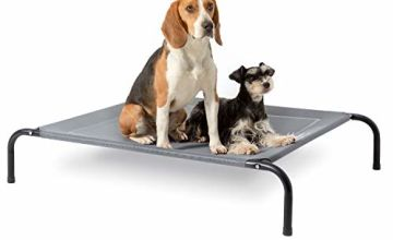 Bedsure Elevated Dog Bed - Waterproof Raised Cooling Bed Large, Medium, Small Size