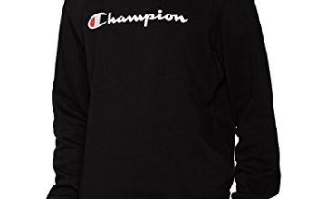 Champion Men's Classic Logo Sweatshirt, Grey (Oxgm), XL
