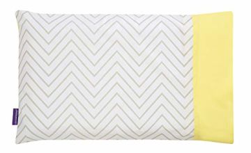 Save on Clevamama Clevafoam Toddler Pillow Case, 100% Cotton - Grey and more
