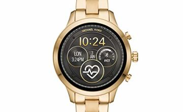 Save on Michael Kors Womens Smartwatch with Stainless Steel Strap MKT5045 and more