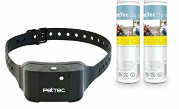 PetTec Anti-Bark Spray Trainer Advance, w/ 2 Refill Sprays (Citronella/Neutral)