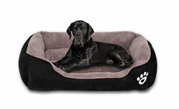 KIMIPET Dog Bed Medium,Warm Soft Comfortable Pet Bed Sofa XL 80 * 60cm for Medium Dogs Cats Small Pets