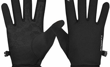 Yobenki Warm Winter Gloves, Windproof Thermal Gloves Anti Slip Touch Screen Gloves Cold Weather Cycling Gloves for Men Women Driving Running Outdoor Sports