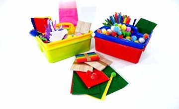 Classroom Desktop Storage Caddies - Pack of 4 (280 x 240 x 140mm)