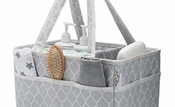 Baby Diaper Caddy Nappy Large Organizer Bag Portable Basket for Car Bedroom Travel Storage
