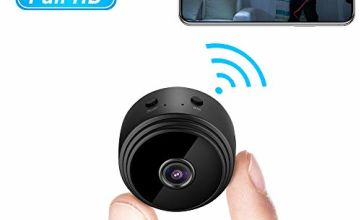Mini Spy Camera, Welcam Hidden Camera WiFi 1080P Wireless Home Security Surveillance Camera, Tiny Nanny Baby Pet Cam with Night Vision and Motion Detection
