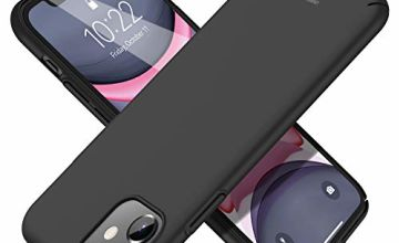 UNBREAKcable iPhone 11 Case - Hard PC Ultra-slim Lightweight Stylish Protective Cover Case for iPhone 11 6.1-inch [Anti-Slip, Anti-Scratch] - Black