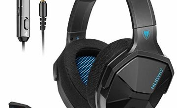 NUBWO PS4 Headset, Stereo Surround Sound Gaming Headset, Xbox One Headset with Noise Cancelling Mic Compatible with PC/PS4/Xbox 1/Switch