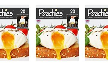 Poachies Egg Poaching x 3-60 Bags, Fabric, 17x13.5x1.5 cm