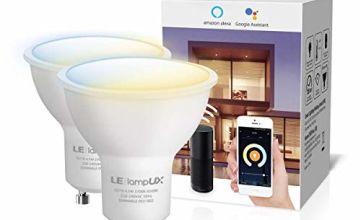 LE Alexa GU10 Smart Bulbs, Warm to Cool White Spotlight