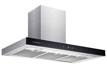 CIARRA 90/ 60cm Stainless Steel Touch Control Chimney Cooker Hood Range Hood Kitchen Extractor Fan …