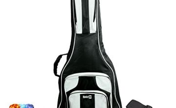 RockJam DGB-04 Deluxe Electric Guitar Bag and Acoustic Guitar Bag