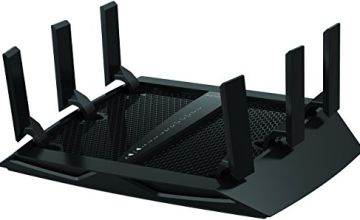NETGEAR Nighthawk X6 Smart Wifi Router (R8000) - AC3200 Tri-band Wireless Speed (up to 3200 Mbps) | Up-to 3500 sq ft Coverage & 50 Devices | 4 x 1G Ethernet and 2 USB Ports | Armor Security