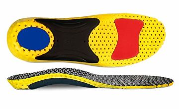 High Arch Orthotic Inserts Orthotic Insoles Support Injection for Flat Feet, Shoe Insoles for Plantar Fasciitis, Feet Pain, Comfort Arch Support Insoles……