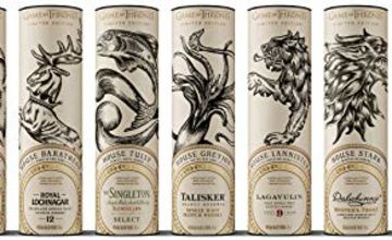 25% Off Game of Thrones Whiskies