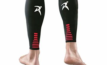 Rymora Calf Compression Sleeves (Ideal for Shin Splints, Running, Sports for Men/Women)