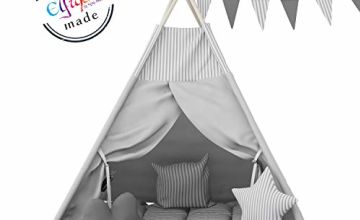 Elfique New Teepee Native Indian Tent Double Padded Blanket