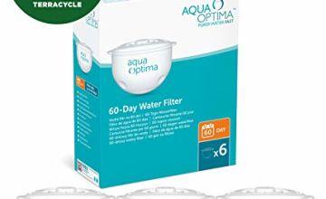 Aqua Optima Original 12 month pack,  6 x 60 day water filters - SWP336