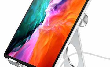 Cocoda Tablet Stand, Phone Holder for Desk, Adjustable iPad Holder Compatible with iPad Pro 12.9/11/10.5/9.7, iPad Air 3 2 1, iPad Mini 5 4 3 2, Samsung Galaxy Tabs, E-Readers (4-13¡±)