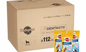 Up to 45% off Pedigree Dentastix daily dental care chews