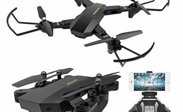 TOYEN RC Quadcopter with 2.4GHz 6-Axis Gyro Altitude Hold Function and 720P HD 2MP Camera Helicopter