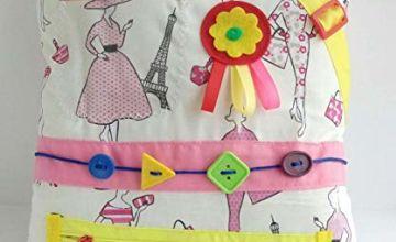 Sensory Fidget Cushion Activities for seniors Paris fashion themed