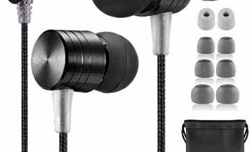 Betron B550s Noise Isolating in Ear Canal Headphones Earphones with Pure Sound and Powerful Bass for iPhone, iPad, iPod, Samsung, Nokia, HTC, Mp3 Players etc