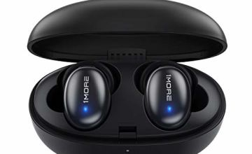 1MORE Stylish True Wireless Earbuds - Bluetooth 5.0 Stereo Hi-Fi Sound with Deep Bass Wireless Earphones Built-in Mic Headset, 24 Hours Playtime, in-Ear Bluetooth Earphones with Charging Case