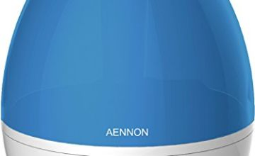 Aennon Cool Mist Humidifier Improves Health, Skin, Mood, Sleep, Focus - Breath Better with Clean & Fresh Air - 20 Hours+ Use for Home Baby Room Bedroom Office, Ultrasonic Humidifiers